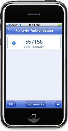 google authenticator new iphone deepnet security 187 third tokens 14209